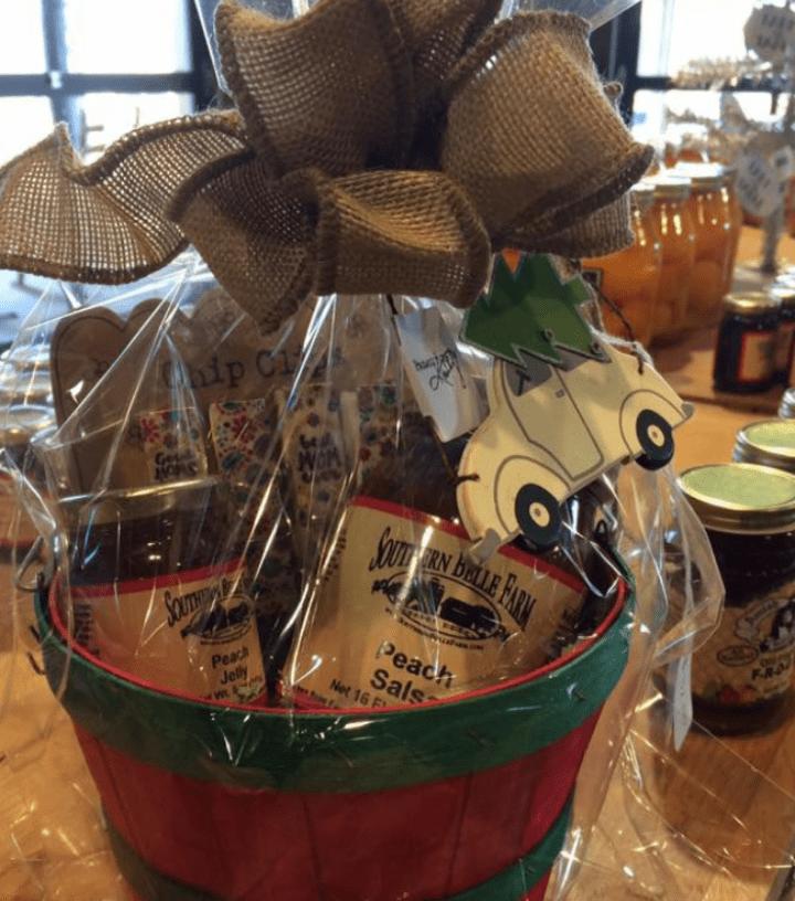 Southern Belle Blog gift basket