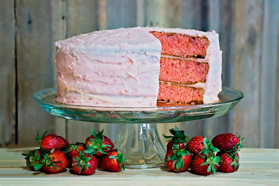 Southern Belle Blog Strawberry Cake