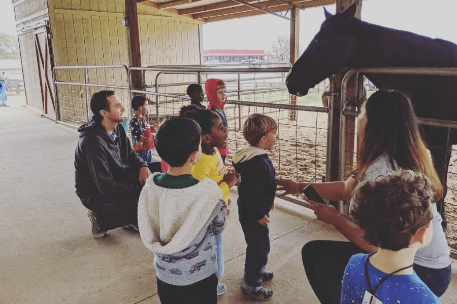Southern Belle Farm Fall Animal Barn