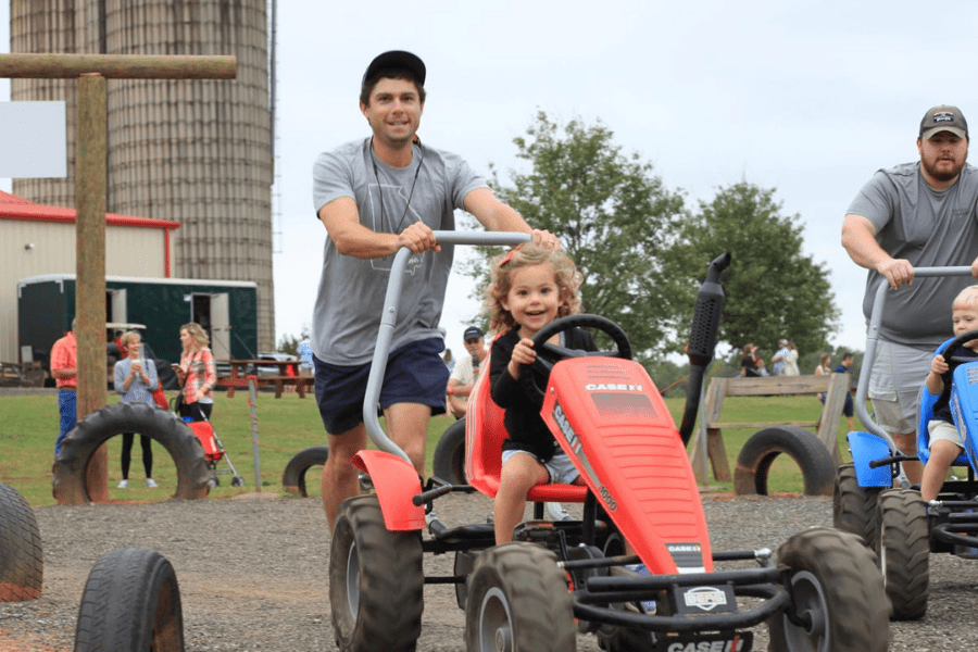 Southern Belle Farm Fall Pedal Carts