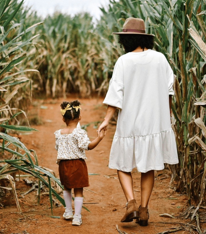 Mother and Daughter Southern Belle Farm Corn Maze