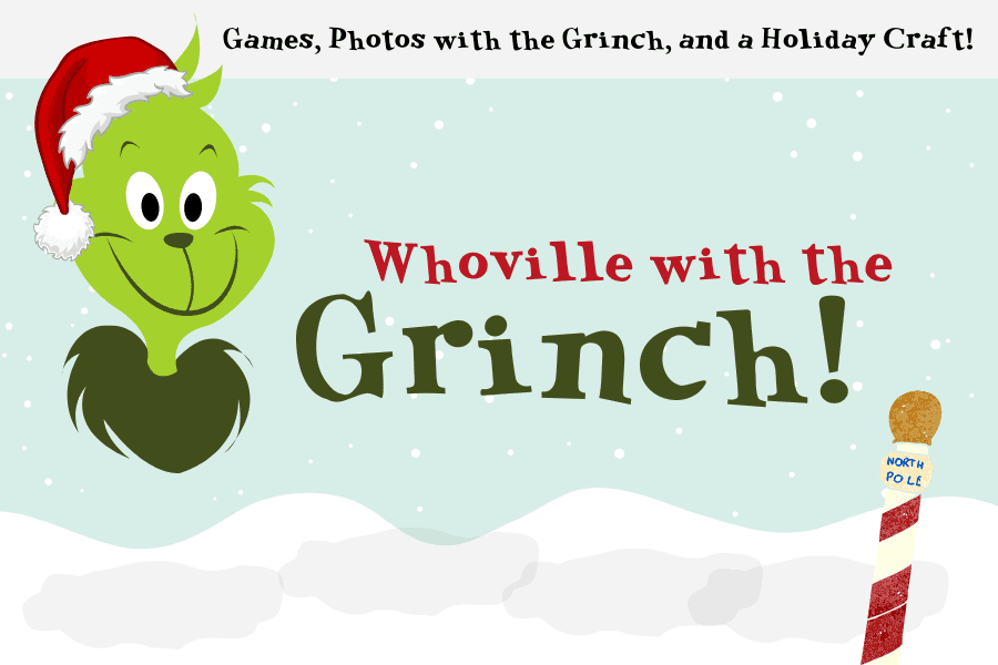 Whoville With The Grinch at Southern Belle Farm!